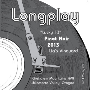 LongplayLabels_lucky 13 front
